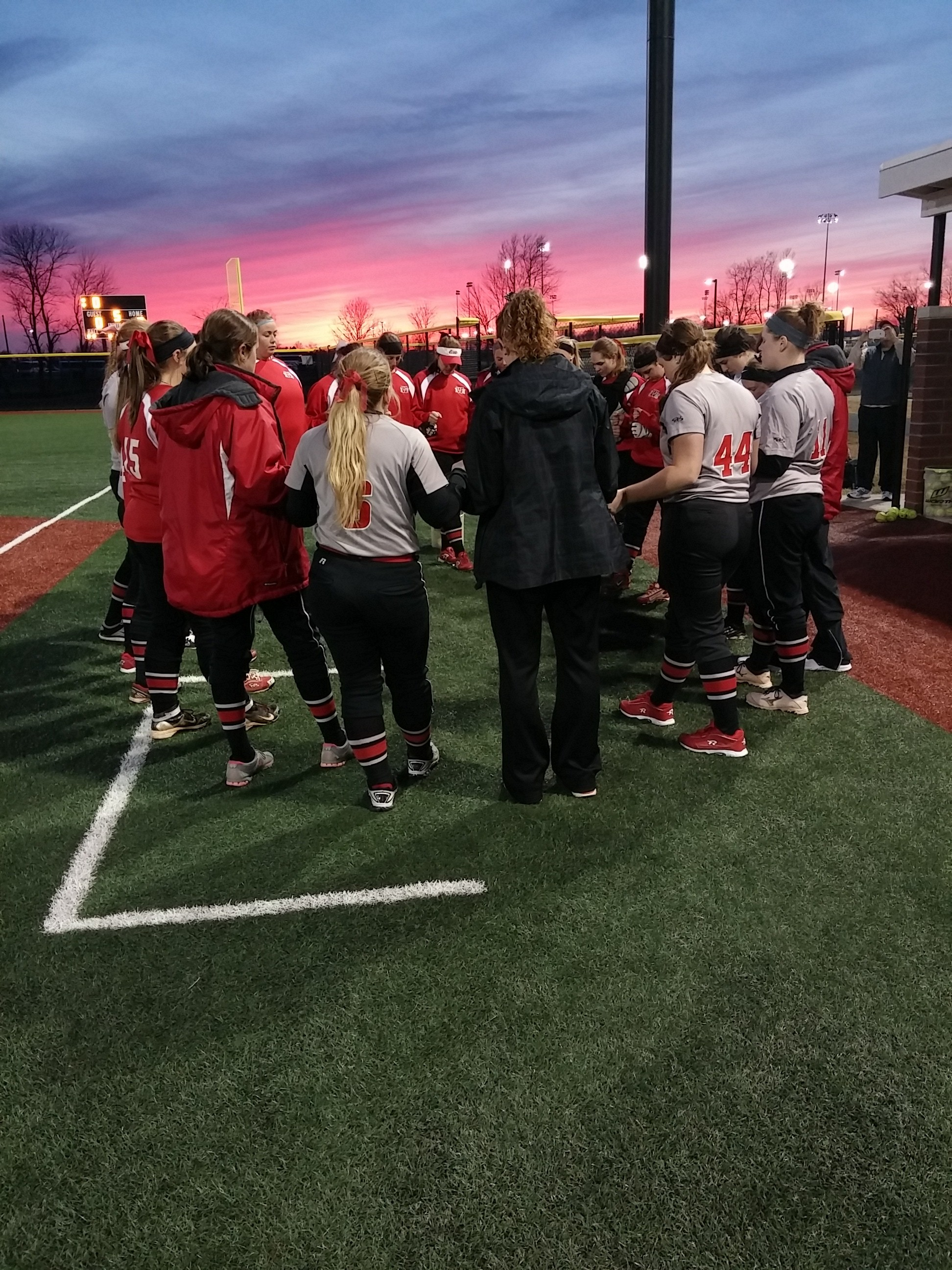 Indiana Wesleyan Softball Team