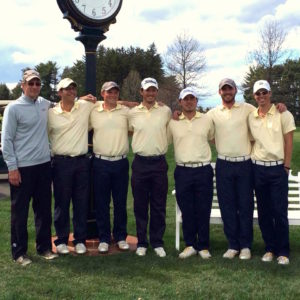 Allegheny Men's Golf Team