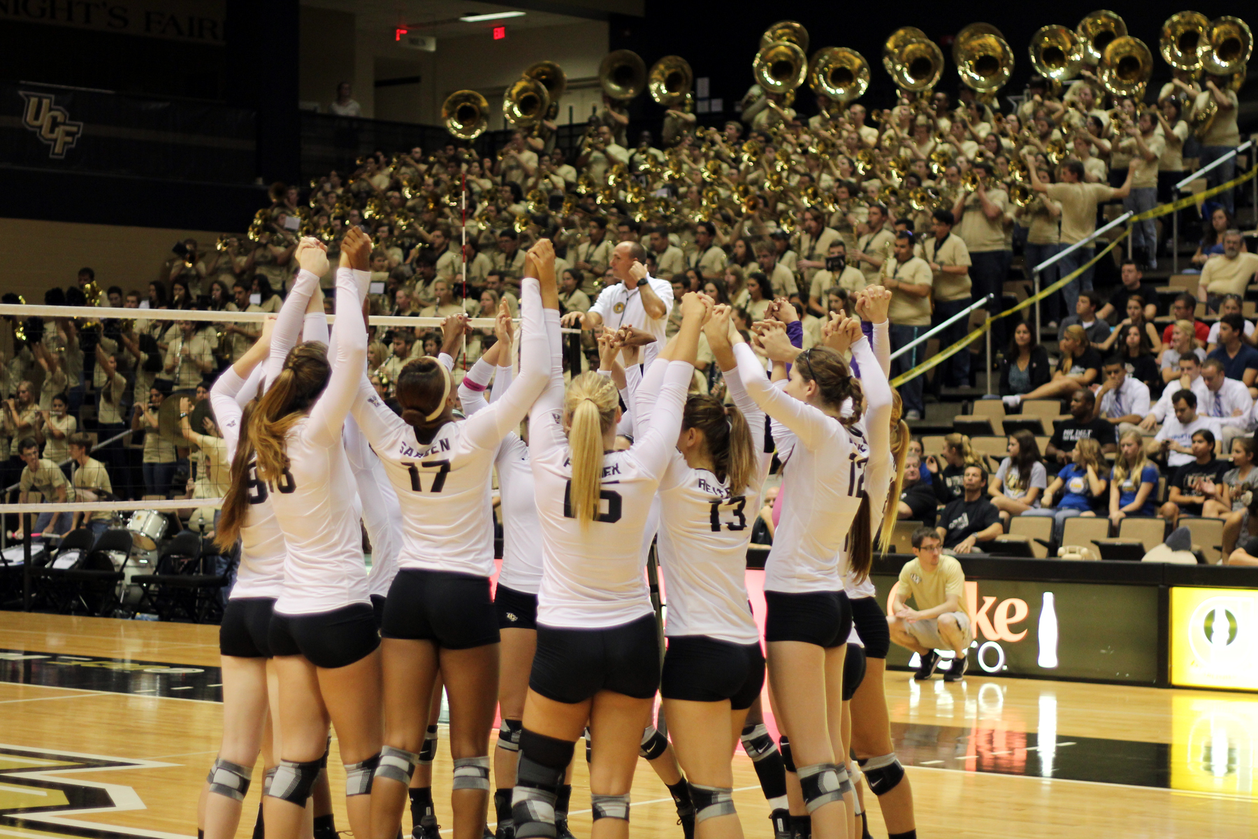 University of Central Florida Volleyball team