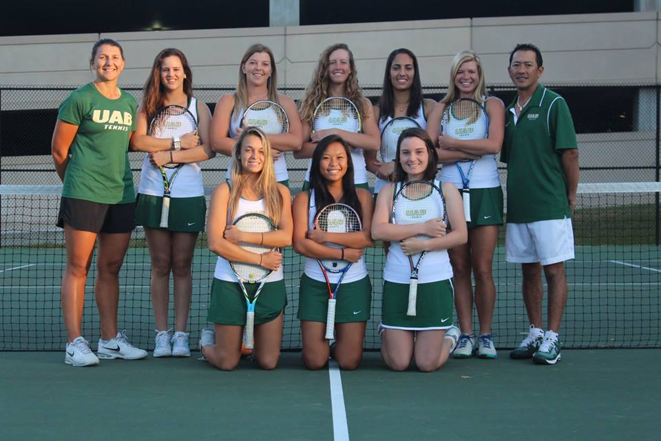 UAB Women's Tennis Team